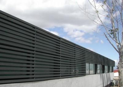 Cuartos técnicos e invernadero para el Campus de Montepríncipe