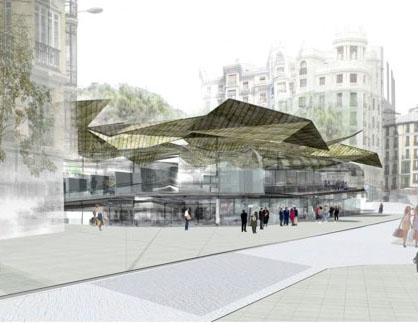 Nuevo mercado Barceló y remodelación de la Plaza de Santa Bárbara