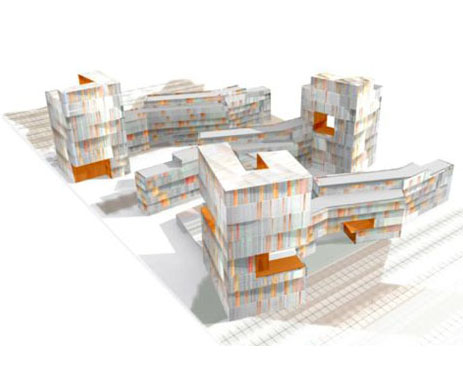1690 viviendas para la Villa olímpica de Madrid 2016