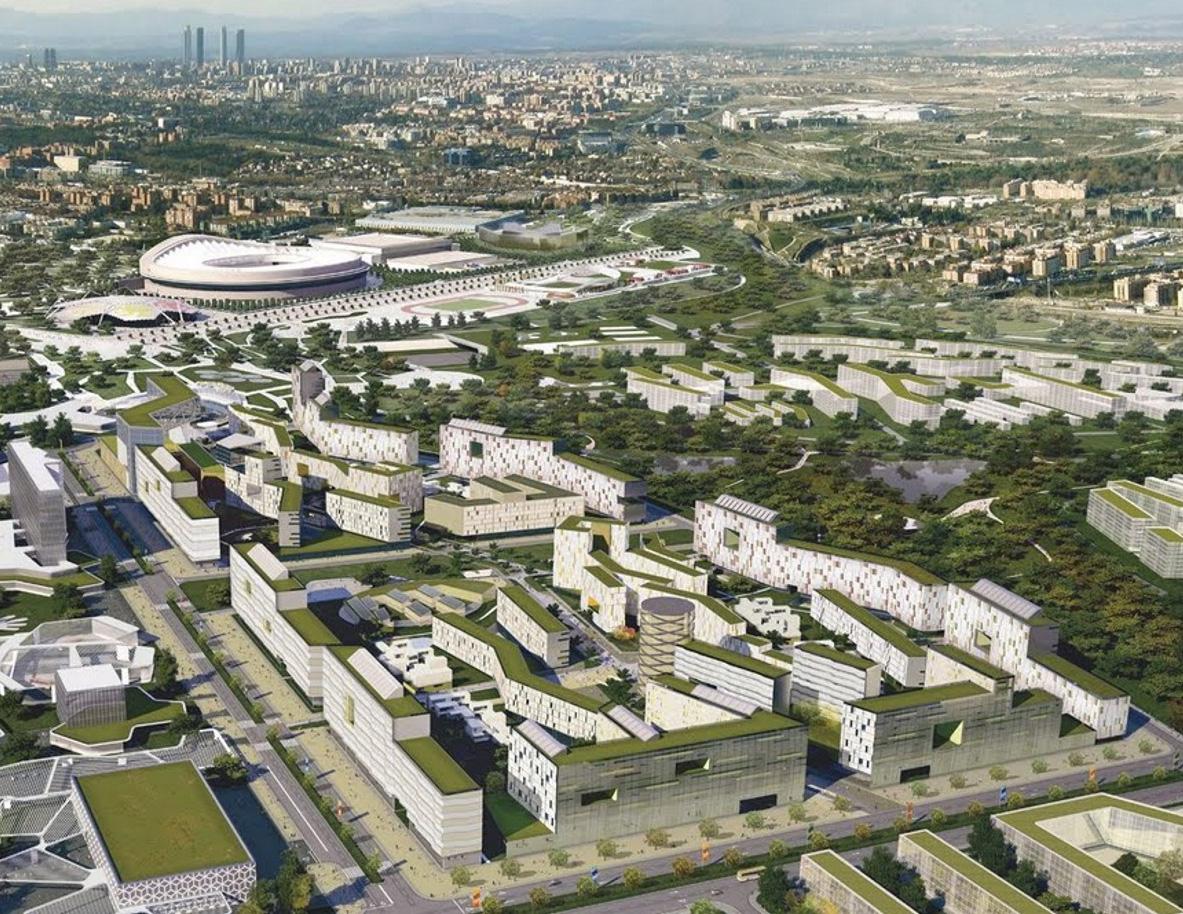 Desarrollo dossier de candidatura Olímpica Madrid 2016 – Villa Olímpica
