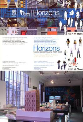 """CMA en la exposición """"HORIZONS, MADRID SOCIAL HOUSING"""" en Londres"""